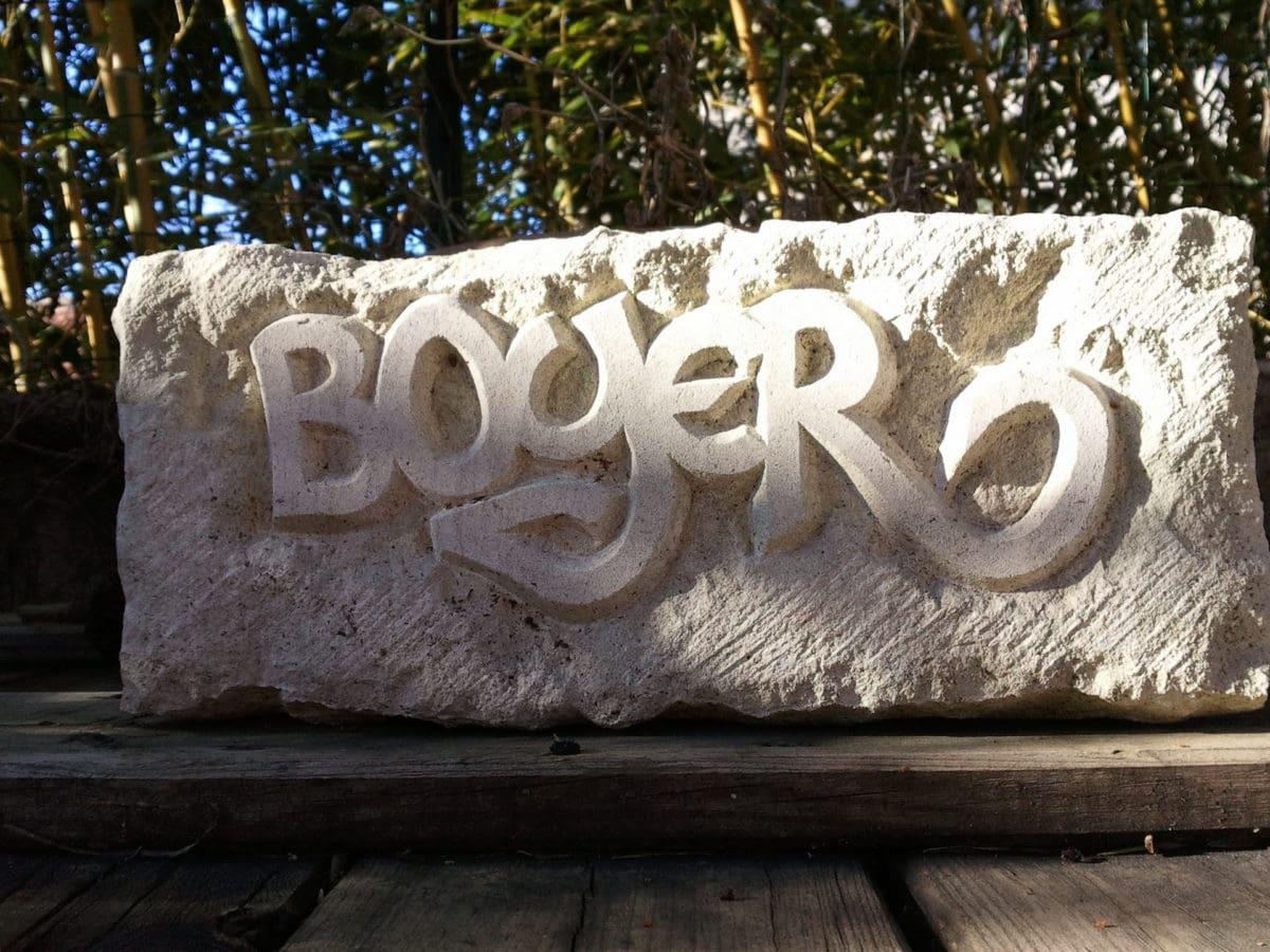 Graveur sur pierre - Clement Boyer