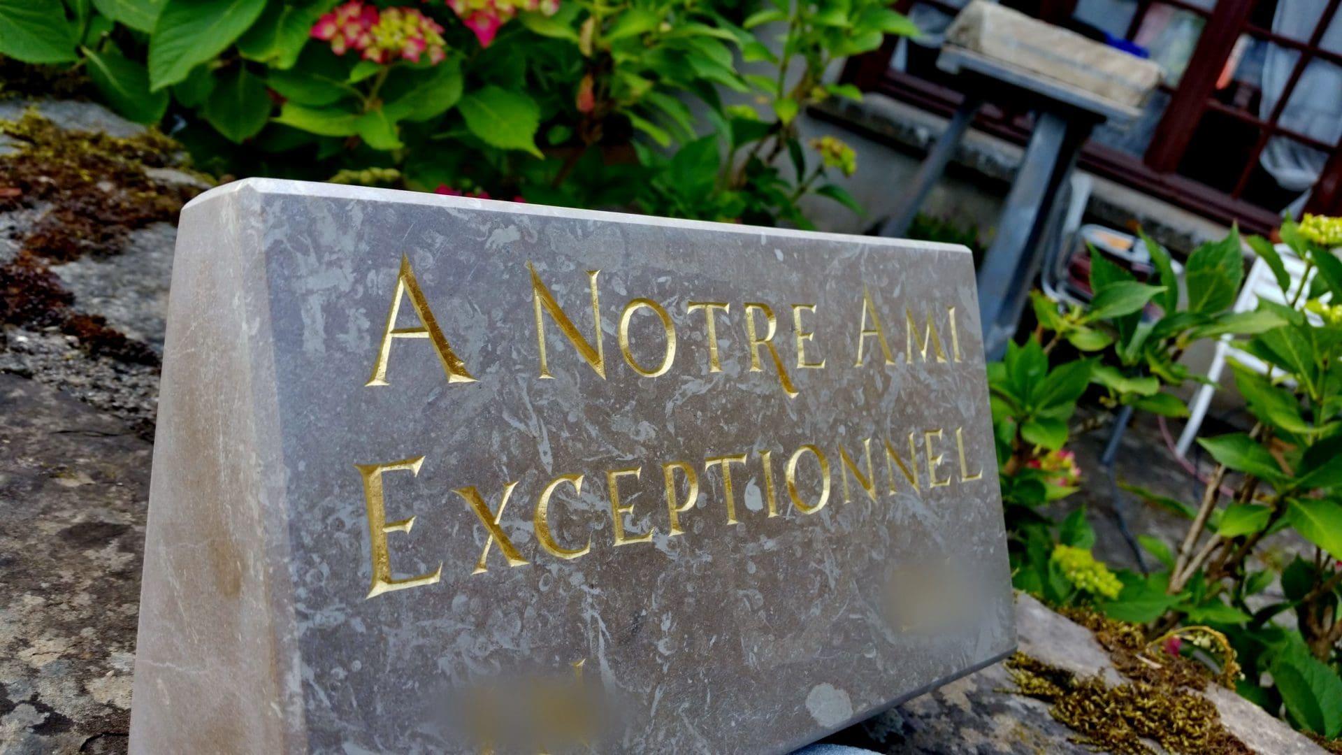 Peinture De Lettres Et Dorure à La Feuille Dor En Hérault Clément